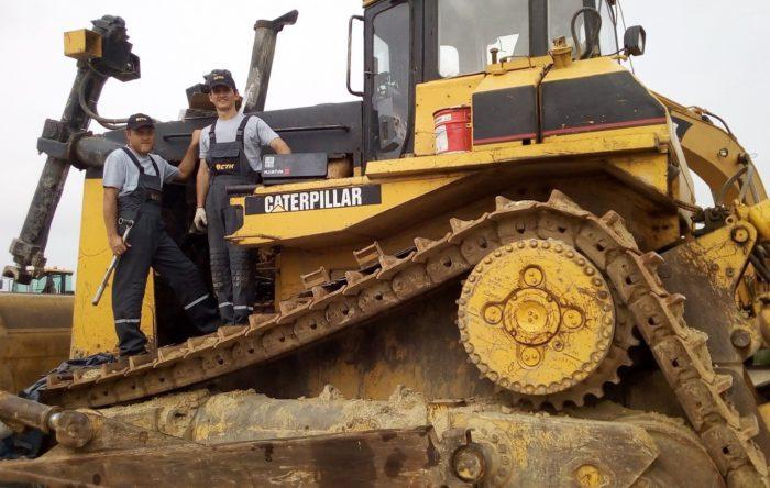 СТК приступила к обслуживанию ДСТ Caterpillar