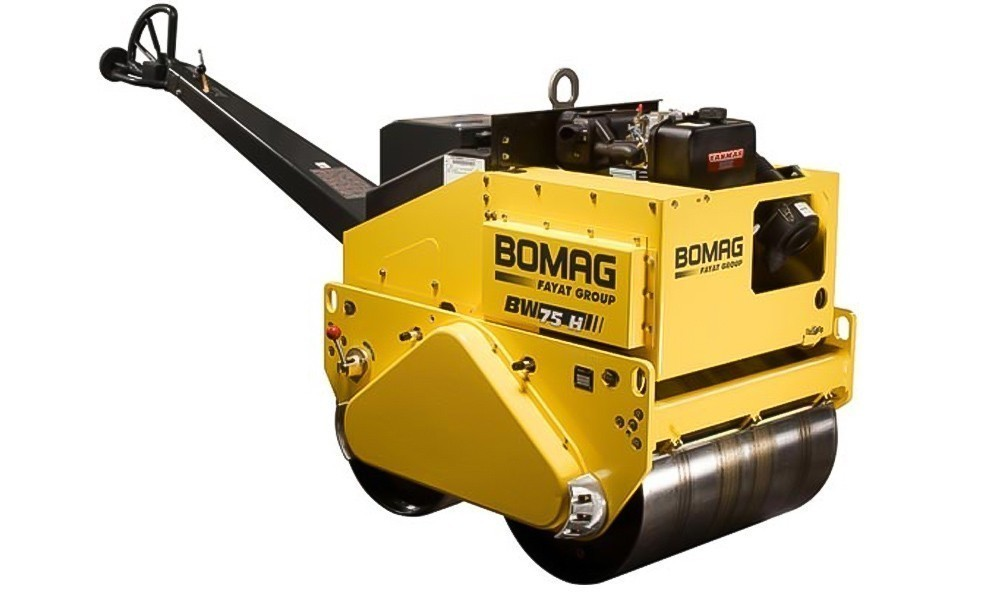 Виброкаток Bomag BW 75 H (двухвальцовый)