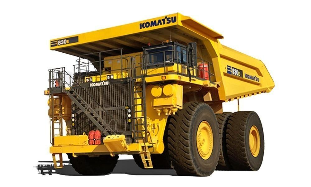 Карьерный автосамосвал Komatsu HD830E