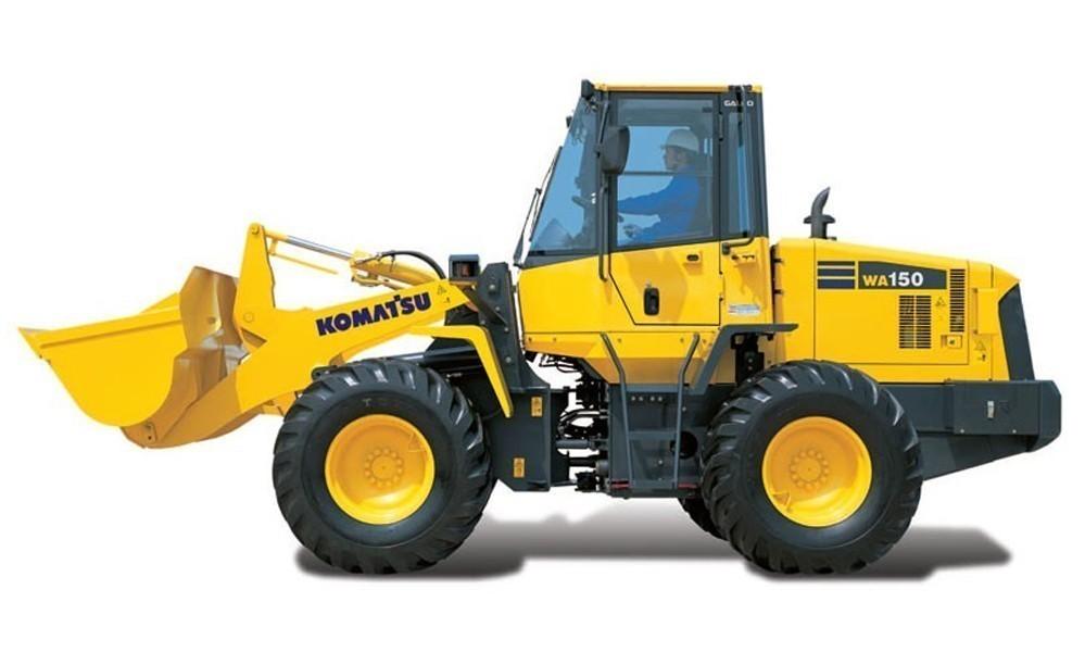 Фронтальный погрузчик Komatsu WA150-5